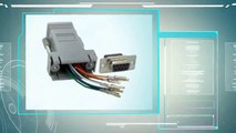 Get the SF Cable DB9 Female to RJ45 Modular Adapter