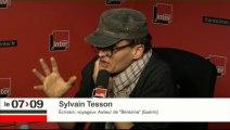 """Sylvain Tesson : """"L'influence de l'Otan sur l'ancien bloc soviétique est insupportable pour les Russes"""""""