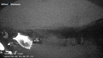 UFO . Webcam .Hessdalen, Valley of Norway, .08.02. 2015