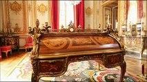 Extrait du documentaire d'Arte sur le suprenant mobilier du château de Versailles