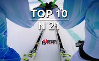 Top 10 Extreme Sports Videos  n°21 : Live the FASTEST run ever through Ted Ligety !