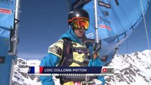 Run of Collomb-Patton Loïc (FRA) - Swatch Freeride World Tour 2015 in Vallnord Arcalis (AND) By The North Face
