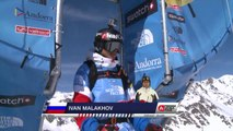 Run of Malakhov Ivan (RUS) - Swatch Freeride World Tour 2015 in Vallnord Arcalis (AND) By The North Face