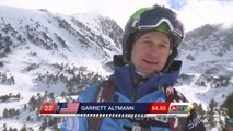 Run of Altmann Garrett (USA) - Swatch Freeride World Tour 2015 in Vallnord Arcalis (AND) By The North Face