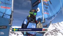 Run of Barkered Reine (SWE) - Swatch Freeride World Tour 2015 in Vallnord Arcalis (AND) By The North Face