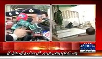 IG KPK Nasir Durrani Media Talk On Imambargha Attack - 13th February 2015