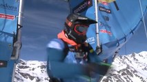 Run of Lopez Julien (FRA) - Swatch Freeride World Tour 2015 in Vallnord Arcalis (AND) By The North Face