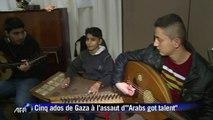 Des bombes au succès télé pour cinq ados de Gaza