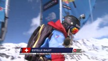 Run of Balet Estelle (SUI) - Swatch Freeride World Tour 2015 in Vallnord Arcalis (AND) By The North Face