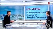 Les 4 Vérités : Olivier Besancenot revient sur la politique soutenue par le NPA