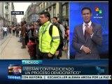 Mexicanos envían mensaje solidario a Venezuela tras intentona golpista