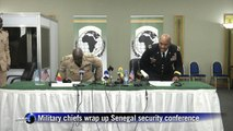 US and Senegal military chiefs wrap up security conference