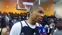Giannis on dunk contest