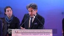 [ARCHIVE] Conférence nationale sur l'évaluation des élèves : le jury remet son rapport à la ministre