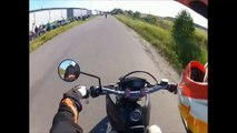 Crazy Stunts Gone Wrong- Extreme Stupid Fails- Motorcycle Crashes Caught on Camera