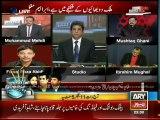 Fierce exchange of words between Faisal Raza Abidi and Mohammad Mehdi