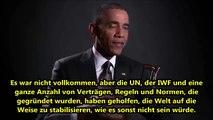 ObamaWir drehen die Arme jener Laender um die nicht das tun was wir verlangen