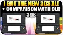 Nintendo New 3DS XL - I Finally Got One! Unboxing + New 3DS XL + 3DS XL Comparison