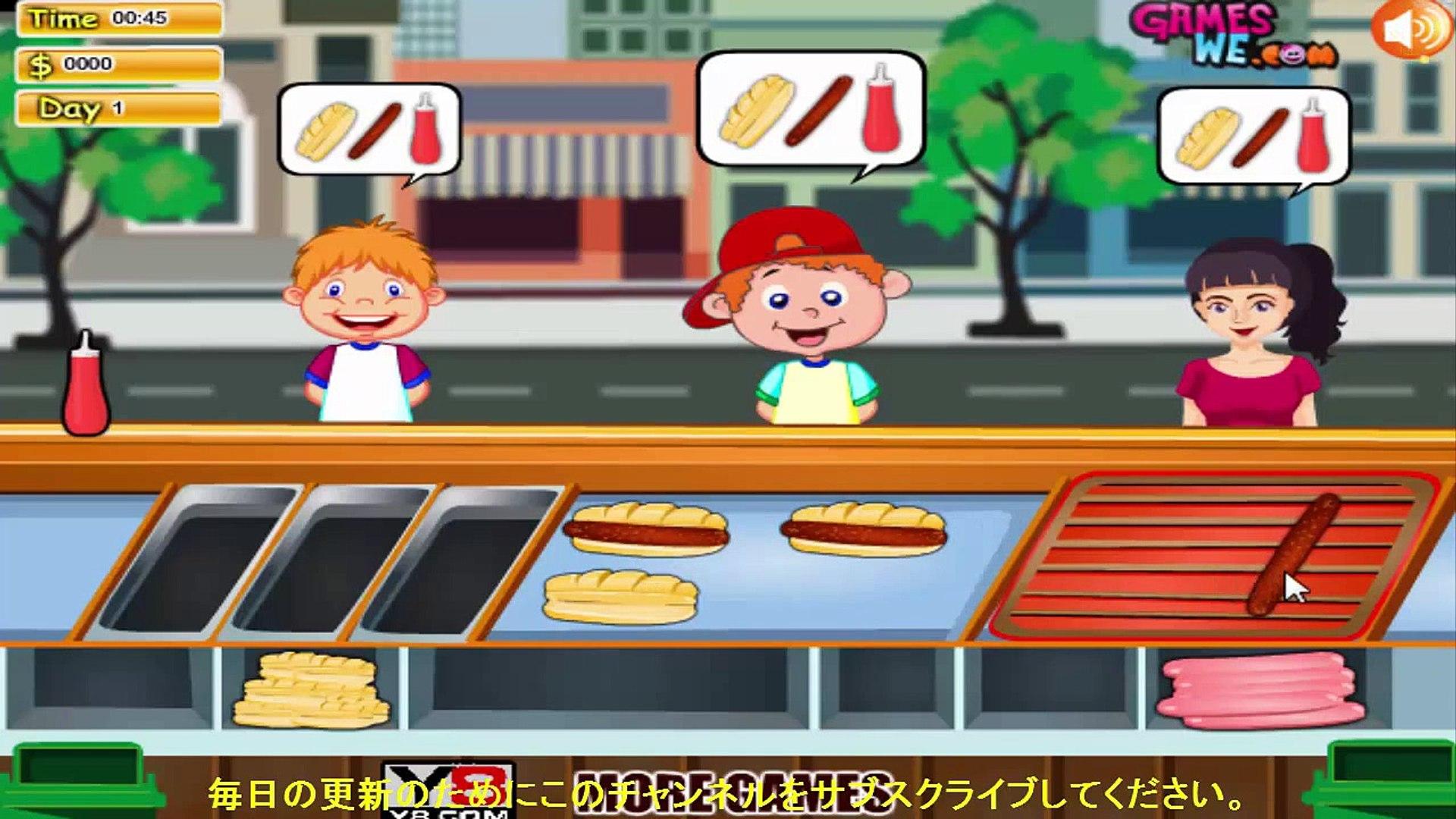الطبخ لعبة - سوبر برغر تسوق لعبة للأطفال