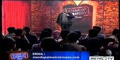 Sammy notaslimboy Stand Up Comedy Indonesia Satu Atau Dua TERBARU and TERLUCU MetroTV 8 Juli 2014
