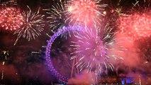 London Fireworks 2015 firework 2014 Happy new year fireworks 2015 Silvester Feuerwerk 2015 Fireworks
