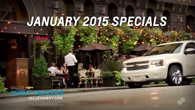 January Offers on Chevy Vehicles – Valley Chevy Phoenix