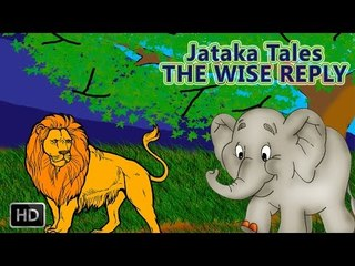 Jataka Tales - The Wise Reply - Moral Stories For Children - Animated Cartoons/Kids