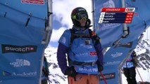 Run of Jackie Paaso (USA) - Swatch Freeride World Tour 2015 in Vallnord Arcalis (AND) By The North Face