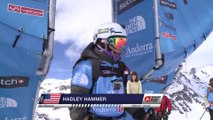 Run of Hadley Hammer (USA) - Swatch Freeride World Tour 2015 in Vallnord Arcalis (AND) By The North Face