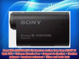 Sony HDR-AS30VW.CEN Kit Aventure Action Cam Sony AS30V 16 Mpix USB   Caisson ?tanche 5 m