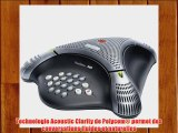 Polycom Voice Station 300 T?l?phone de conf?rence Mains libres Anthracite