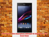 Sony Xperia Z Ultra Smartphone d?bloqu? 4G (Android 4.2 Jelly Bean) Blanc