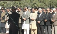 Funeral prayers offered for General Raheel Sharif's mother