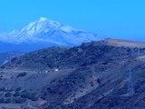 Splendeur naturelle en Algérie . Djurdjura,vue partielle. من روائع الطبيعة في الجزائر
