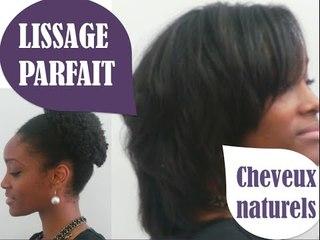 Lissage parfait Cheveux crépus