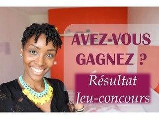 Résultat du Jeu Concours | MarciaBFN