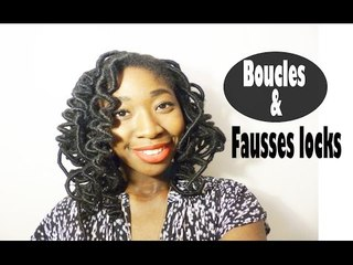 Comment boucler ses fausses locks? I Tuto coiffure
