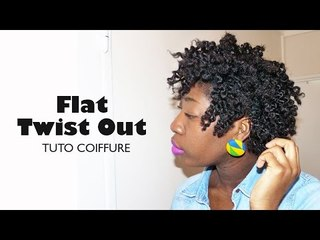 Comment réaliser un Flat Twist Out I Tuto Coiffure