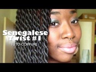 Senegalese Twist #1 I Tuto Coiffure