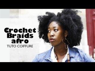 Comment réaliser un afro avec Crochet Braids | Tuto coiffure