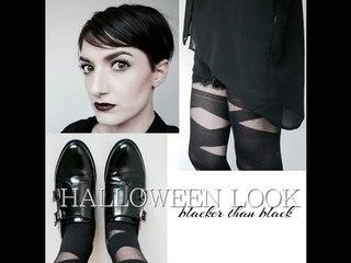 HALLOWEEN LOOK // Blacker than Black