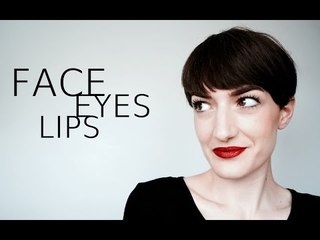 FACE EYES LIPS // Dior, Armani, Urban Decay - Lexie Blush