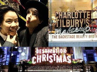 #VlogMas // Christmas Lightings & Burgers
