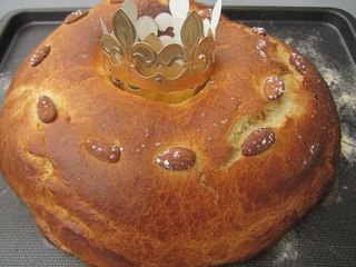 Recette de gâteau des rois à l'eau de fleur d'oranger