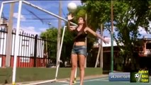 Girl Freestyle Football - Girl Football Skills - Women Football Freestyle Compilation2015