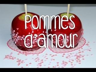 Recette des Pommes d'amour pour la St Valentin ❤︎