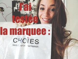 J'ai testé la marque CHOIES !! | Fashioninyourdreams