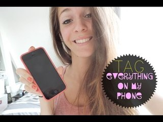 Everything on my phone + SURPRISE !!! | Fashioninyourdreams