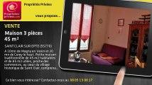 A vendre - maison - SAINT CLAIR SUR EPTE (95770) - 3 pièces - 45m²