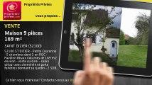 A vendre - maison - SAINT DIZIER (52100) - 9 pièces - 169m²
